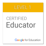 Level 1 - Google Certified Educator.