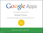 Google Apps Education Individual Qualification