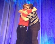 Tim Harris gave me a hug at OCALICON!