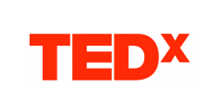 TEDx logo.