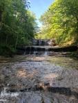 Waterfall at Fallsville Wildlife Area.