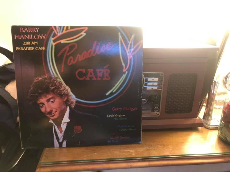 """Barry Manilow's album, """"2:00 AM Paradise Café"""""""